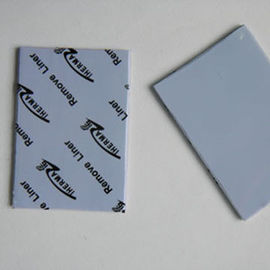 Telecommunication Hardware blue 5.0W/mK Thermal Gap Filler Materials 2.75 g/cc, thermal silicone rubber pad 45 shore00