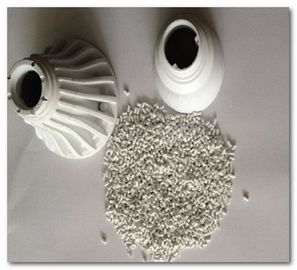 China white High Thermally Heat Conducting Materials thermal conductive plastic 0.8W/MK Electric Insulation supplier
