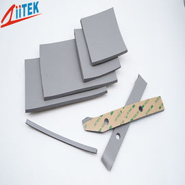 China High Temperature 200℃  Silicone Foam Gasket Z-Foam8240 6mmT materials For Sealing Charging Pile supplier