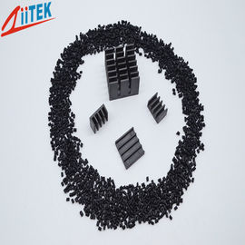 China Black thermal conductivity 2.5 W/m-K nylon heat sinks  1.65g/cm3 Normal Engineering thermal conductive Plastic 150℃ 94V0 supplier