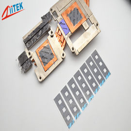 China 2.5W / mK CPU Heatsink  25 Shore 00 Thermally Conductive pad for Electronic Components -50 to 200℃ supplier
