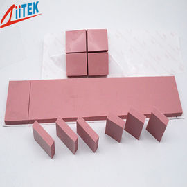 China UL Recognized 45 Shore 00 Thermal Conductive Pad  Pink Silicone Sheet 2.5W/mK For High Speed Mass Storage Drives supplier