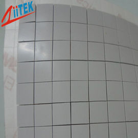 China 3W/mk Soft Compressible Thermal Conductive Pad for LED Heat Dissipation 2.75 g/cc Specific Gravity,45 Shore 00 hardness supplier