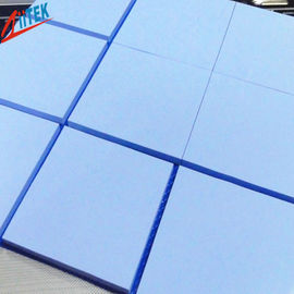 China Naturally tacky blue Good Thermal Conductive pad For CPU Heat Dissipation 1.5 W/mK RoHS compliant TIF100-05E 35 Shore 00 supplier