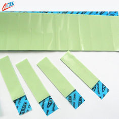 China Light Green Ultra Soft Thermal Interface Pad 2.0W/Mk TIF140-20-07S 45 Shore 00 For LED Lighting supplier