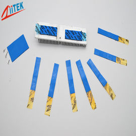 China LED controller ultra soft BLUE Thermal Conductive pad 3 W/M-K silicone gap filler 2.75 g/cc supplier
