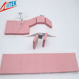 China Pink 3.0W/mK Flexibility Thermal Conductive Pad TIF150-30-49U for Heat Housing at LED-lit 25 shore00, -50 to 200℃ supplier