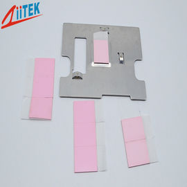 China 4W/MK Heat Sink Pad Sheet For LED Ceilinglight Pink TIF100-40-14E , 35 Shore 00 supplier