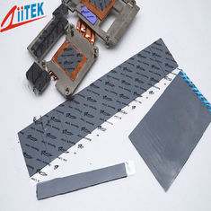 China High Performance 2W Conductivity Non - Silicone Gap Filler 2.65 g/cc The metal oxide fills Zpaster160-20-11E supplier