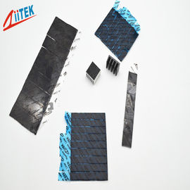 China 1.8W/mK black ultra soft thermal conductive gap pad for LED lights TIF160-18-01E 1.5mmT 35shore00 supplier