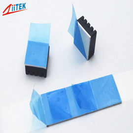 China Easily attached white thermal silicone pad TIF 100-20-06E 2w/mK silicone heatsink pads -50 to 200℃ for routers supplier