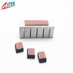 China ATE Heatsink Silicone Soft Compressible 15~45 Shore 00 Thermal Conductive Pad with High Thermal Conductivity 1.25W/m-K supplier