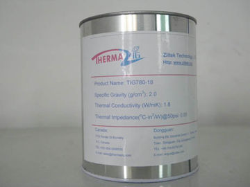 China 1.8W/mK  White Thermal Conductive Grease for LED lighting Never Dry Non-toxic and environmentally safe distributor