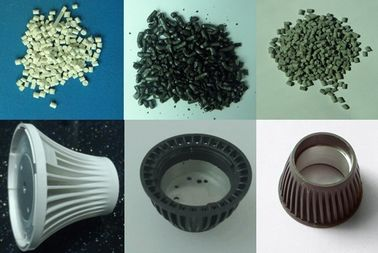 Excellent Flexibility Thermal Conductive High Heat Plastic Housings for LED Lamps UL94- V0 Lighter than normal Aluminum