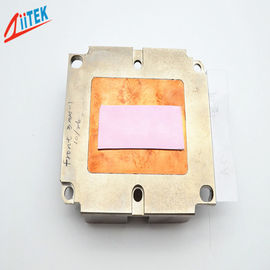 China 5W/mK ,silicone rubber sheet FOR LED panellight Heatsink Thermal Conductive Pad   pink TIF100-50-14S ,45 Shore 00 distributor