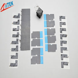China 3w 2mmT Thermal Conductive Silicone Free Gap Filler Pad Z-paster180-30-10S For Car Battery distributor