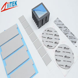 China Ultra Thin Thermal Conductive Pad Silicone Free Gap Filler Pad 1.5W 1.5mmT Zpaster160-15-02S distributor