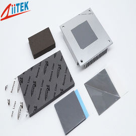 China Thermal Conductive pad high conductivity 3W 1mmT Silicone Free Gap Filler Pad 5.5 MHz –20 To 125 ℃ distributor
