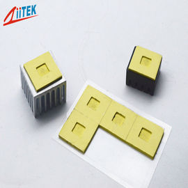 China 1mm Thickness Easily Attached 35shore00 Thermal Conductive Pad 10.2 MHz TIF™140-20-19E With Natural Adhesive factory