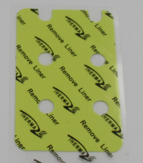 yellow Automotive Engine Control Units Thermal Gap Filler Replace Bergquist Gap Pad 2.0 W/mK