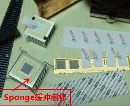 Mobile Phone Double Sided Adhesive Tape with 0.075 PET Foil Thickness High Quick Stick