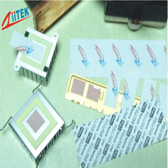 High Frequency Microprocessors 0.95 W/mK Thermal changing materials Low Resistance -25℃ - 125℃