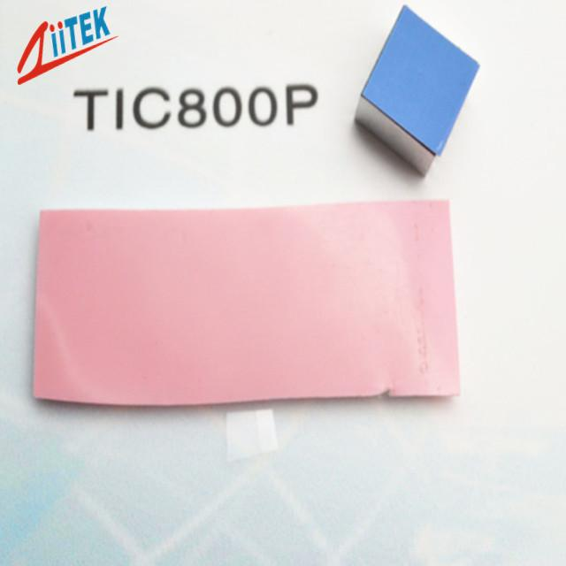 0.95 W/mK Low Thermal Resistance Pink Phase Changing Materials For IGBTs