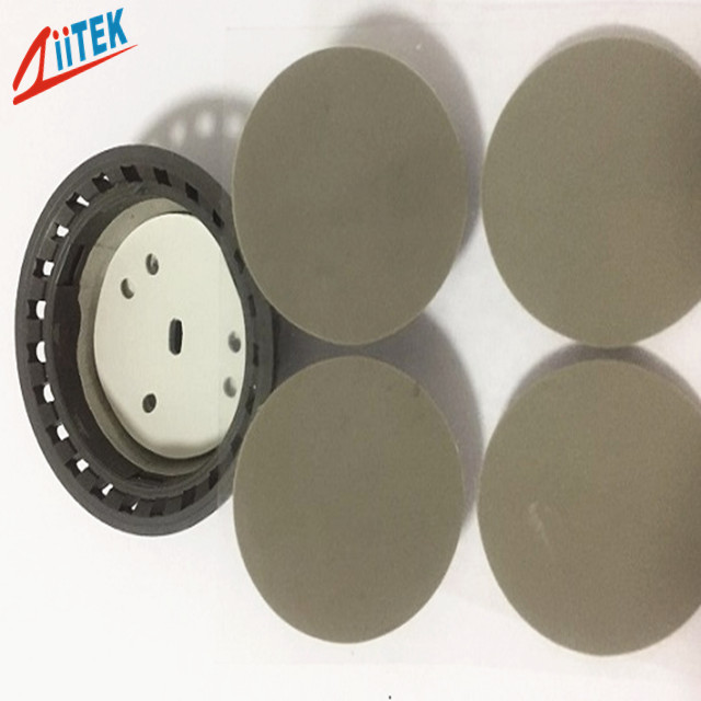 3W/mk Soft Compressible Thermal Conductive Pad for LED Heat Dissipation 2.75 g/cc Specific Gravity,45 Shore 00 hardness