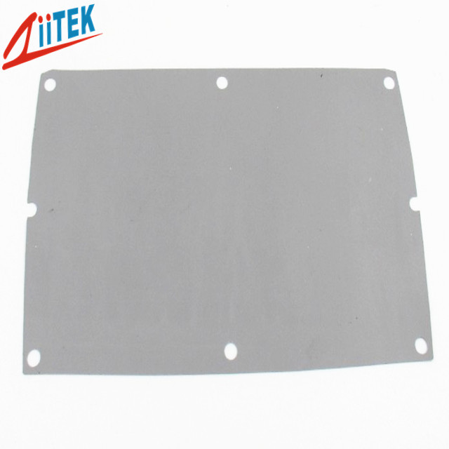 Grey insulation sheet thermal condcutive and electric insolating pad 1.6W/mK TIS818 for closed cell