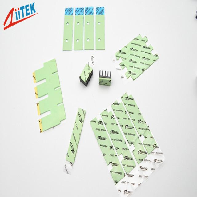 Ultra Soft Low Thermal Conductivity PAD TIF120-20-07U Light Green 5.5 MHz Dielectric Constant 2.0W/mk