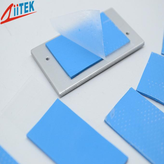 LED controller ultra soft BLUE Thermal Conductive pad 3 W/M-K silicone gap filler 2.75 g/cc
