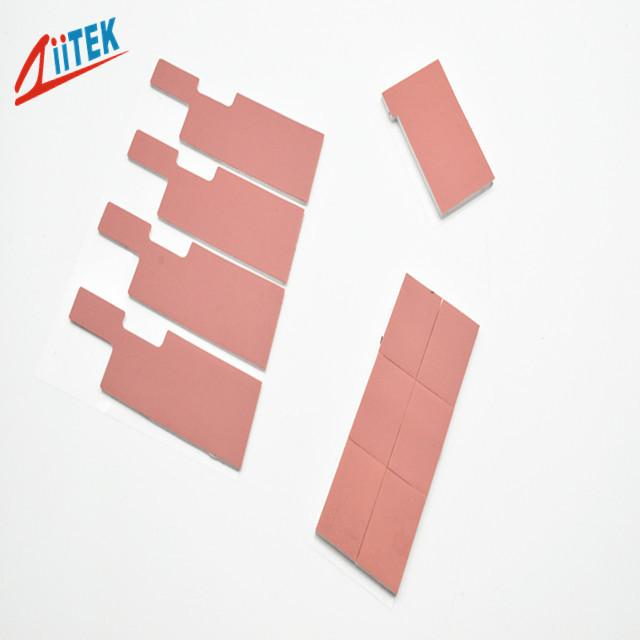 1.25w / m.k Thermally Conductivity Gap Filler / Thermal Insulation Pad