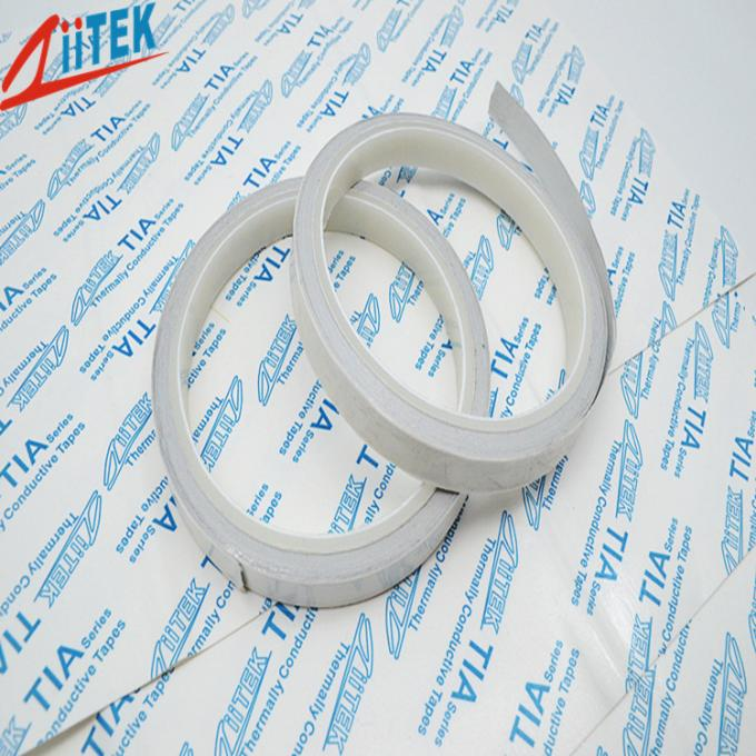 Fire Resistance Acrylic Thermal Adhesive Tape TIA610P 1400 g / Inch Peel Adhesion Low Impedance