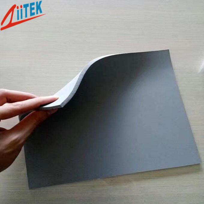 High Temperature Gray Silicone Foam Materials For Electronic Elements' Sealing