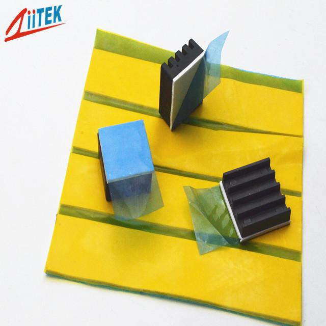 High thermal conductivity customerized 4W thermal conductive pad silicone heat transfer gap filler TIF100-40-06E