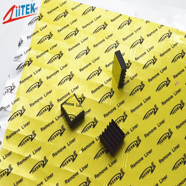 1mm Thickness Easily Attached 35shore00 Thermal Conductive Pad 10.2 MHz TIF™140-20-19E With Natural Adhesive