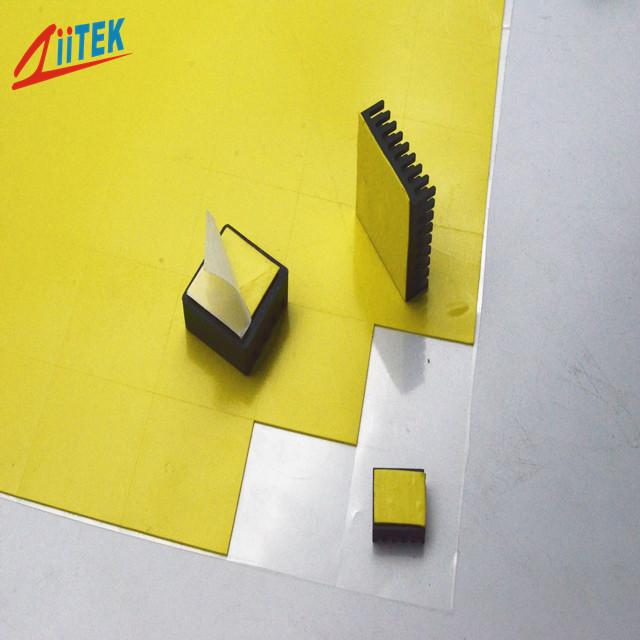 Stability Excellent Economical 1mmT Thermal Conductive Pad TIF™140-19E 2.13 G/Cc For Light Bulb